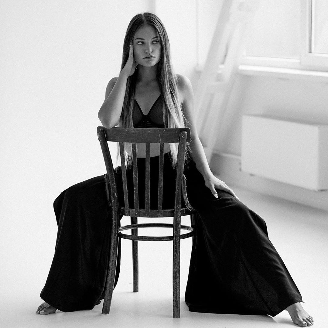девушка Моргенштерна фото